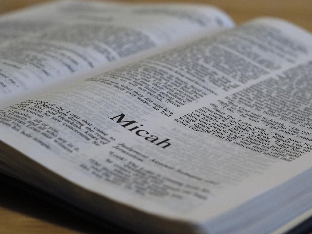 Micah 1:1-2:13