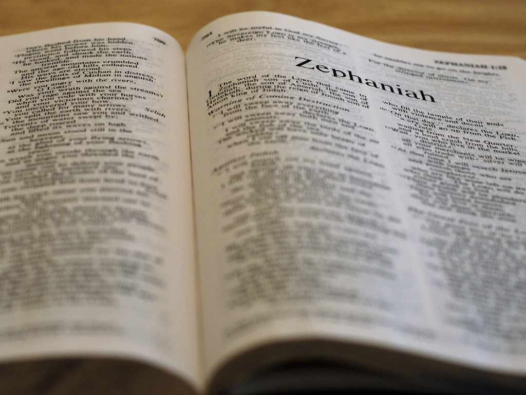 Zephaniah 1:1-2:3