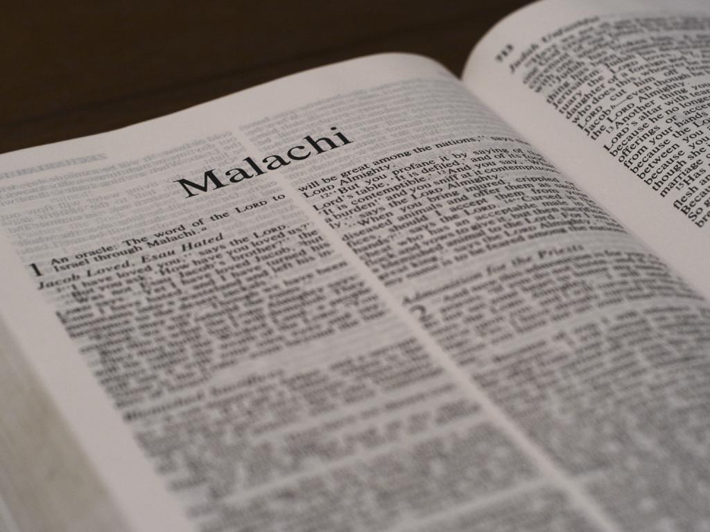 Malachi 2:17 through Malachi 4:6