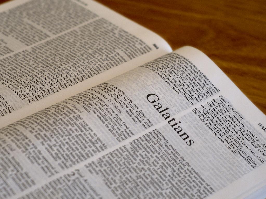 Galatians 6:1-18