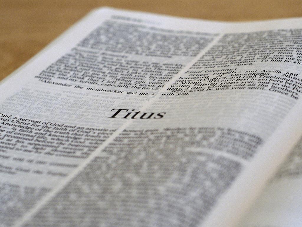 Titus 1:1-16