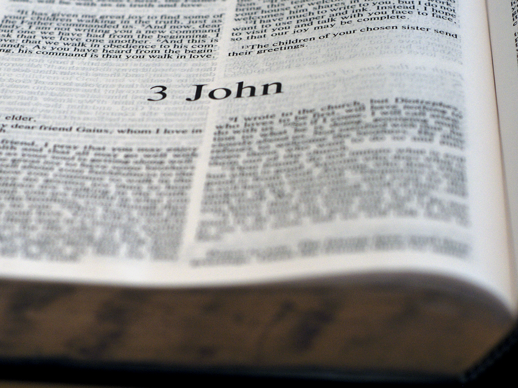 2 John 1:1 through 3 John 1:14